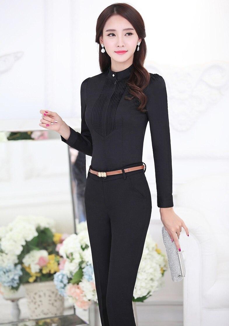 cb9f8963a1b0 Click here to Buy Now!! Nouveau Nouveauté Noir Femelle Pantalon ...