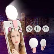 Зажимное кольцо для селфи с подсветкой для смартфона iPhone iPad Samsung Smartphone Selfie