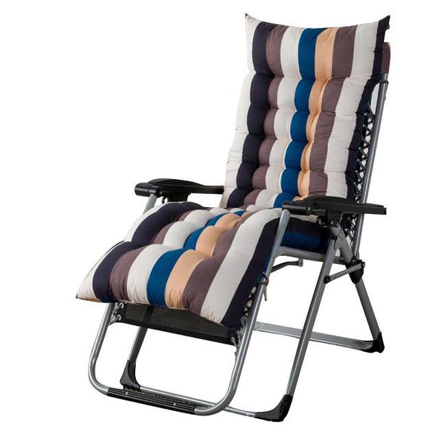 Peachy Stripes Printed Universal Recliner Rocking Chair Mat Thick Rattan Chair Cushions Seat Cushion Pillow For Chair Tatami M In Cushion From Home Garden Machost Co Dining Chair Design Ideas Machostcouk