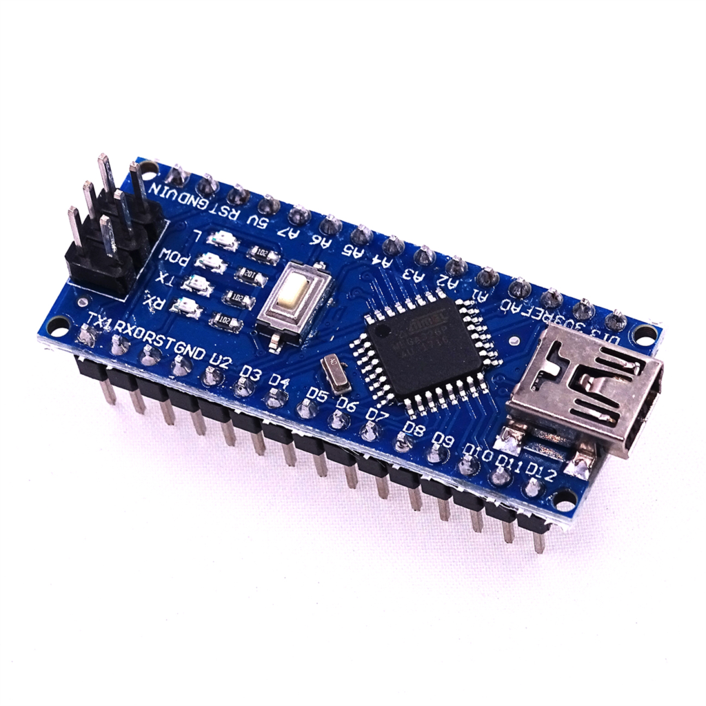 Image 2 - 100PCS Nano 3.0 Atmega328P Controller Compatible With For Nano CH340 USB Driver 16MHz No Cable For Arduino-in Integrated Circuits from Electronic Components & Supplies