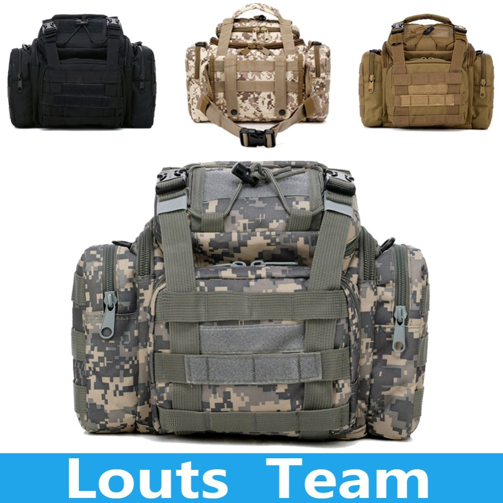 Outdoors Sports Durable Camera Bags Tactical Multifunction SLR Camera Waist Shoulder Bag for Military fans Climbing Bags lowepro protactic 450 aw backpack rain professional slr for two cameras bag shoulder camera bag dslr 15 inch laptop