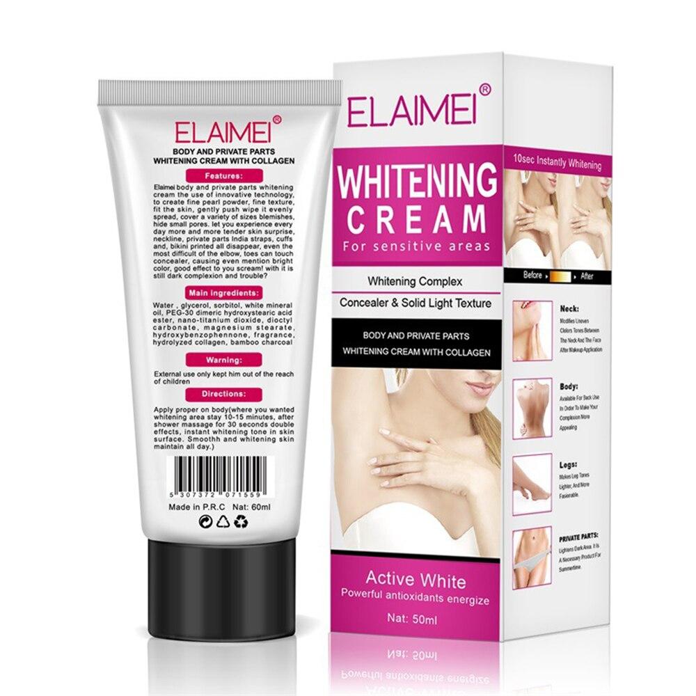 ELAIMEI Underarm Whitening Cream for Sensitive Area Skin Body and Private Parts Whitening Cream Skin Care Underarm Leg Arm knee 1