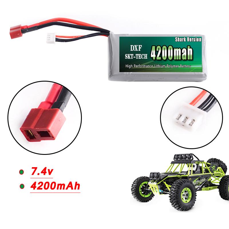 For, Battery, Lipo, Car, Recharge, Wltoys