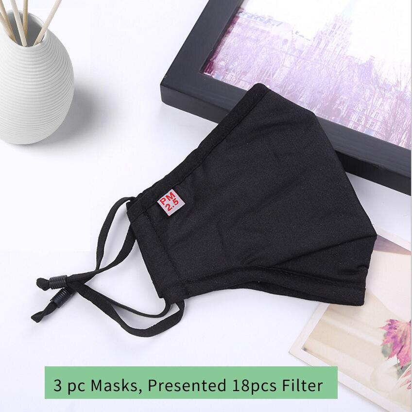 Moledodo 3PCS / LOT Ny bomuld Voksen mund maske PM2.5 støvmaske - Sundhedspleje - Foto 4