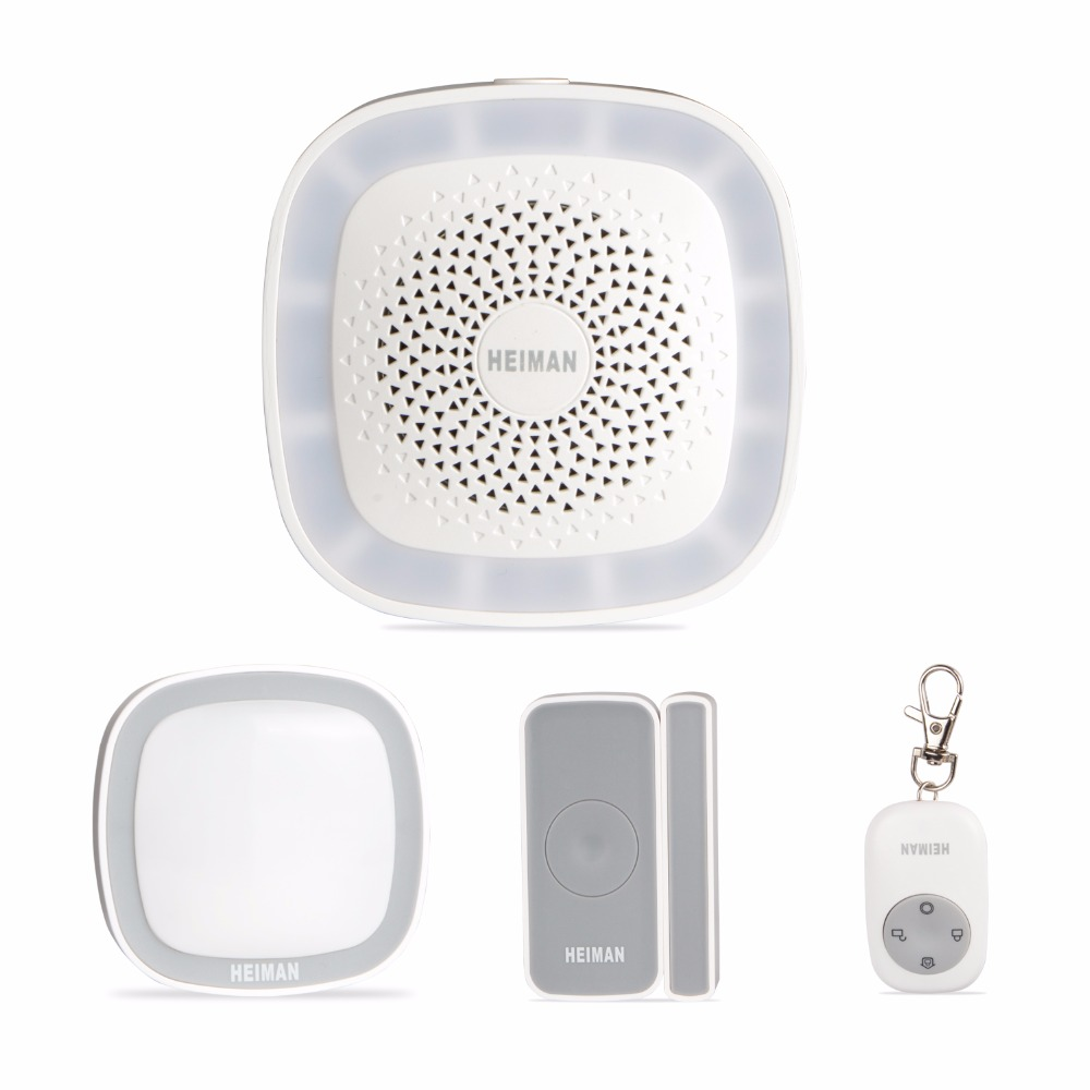 Wireless alarm system home security alarm ZigBeel wifi alarm system for home smart door sensor PIR motion detector wireless vibration break breakage glass sensor detector 433mhz for alarm system