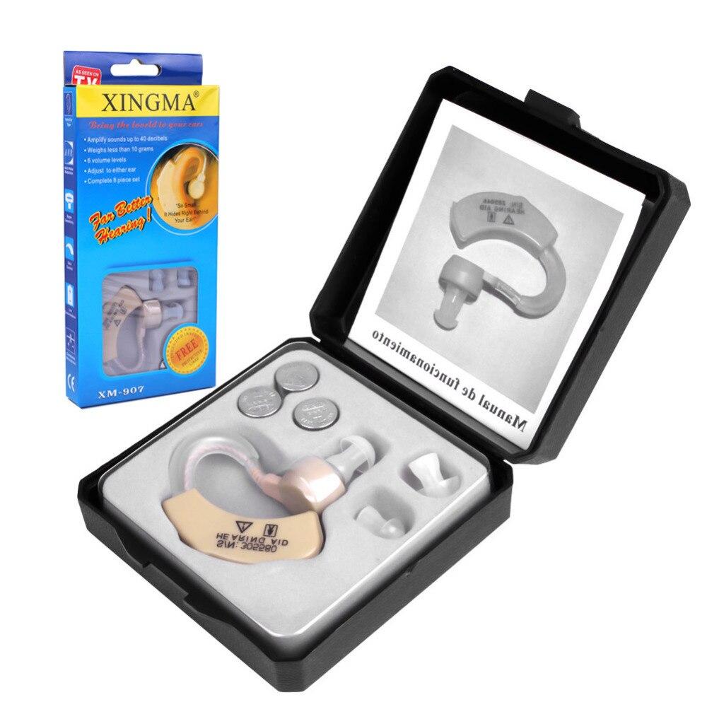 Hörgerät XINGMA XM-907 Kleine Hörgeräte für die ältere Best Sound Voice-verstärker Unsichtbare Mini Bequem Hinter Ohr