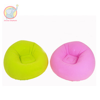 Inflatable green pink beanbag lazy household single Sofa loungers living room nap bean bag chair indoor relax recliner inflated