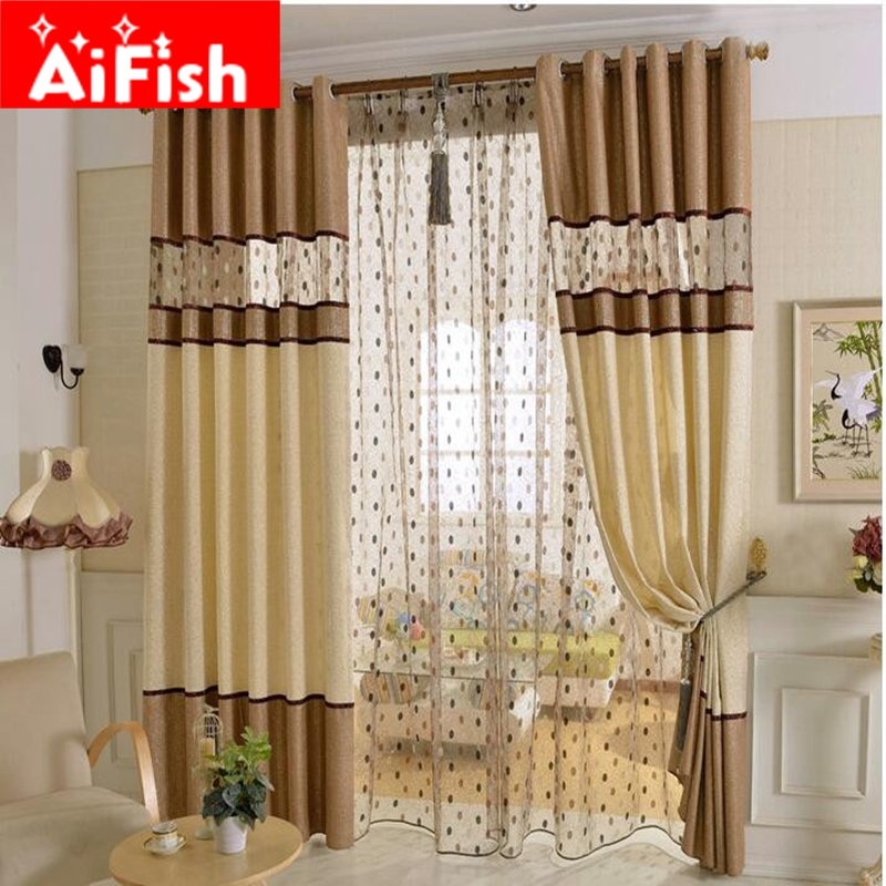 brown and grey chenille embroidered luxury nest curtains fabric panel curtain for bedroom living. Black Bedroom Furniture Sets. Home Design Ideas