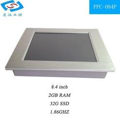 الصناعية لوحة كمبيوتر مع مروحة 1.8 جيجا هرتز cpu 2 جرام رام 32 جرام ssd alluminum ، 12.1 اللوحي