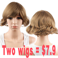 Promotional Products Synthetic Curly Wigs for Black Women Short Blonde Wig Natural Hair Wigs Synthetic Blonde Wigs Women Short