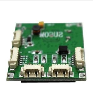 Image 1 - Mini PBCswitch โมดูล PBC OEM โมดูล mini ขนาด 4 พอร์ตเครือข่ายบอร์ด Pcb mini โมดูลสวิทช์ ethernet 10/ 100 Mbps OEM/ODM