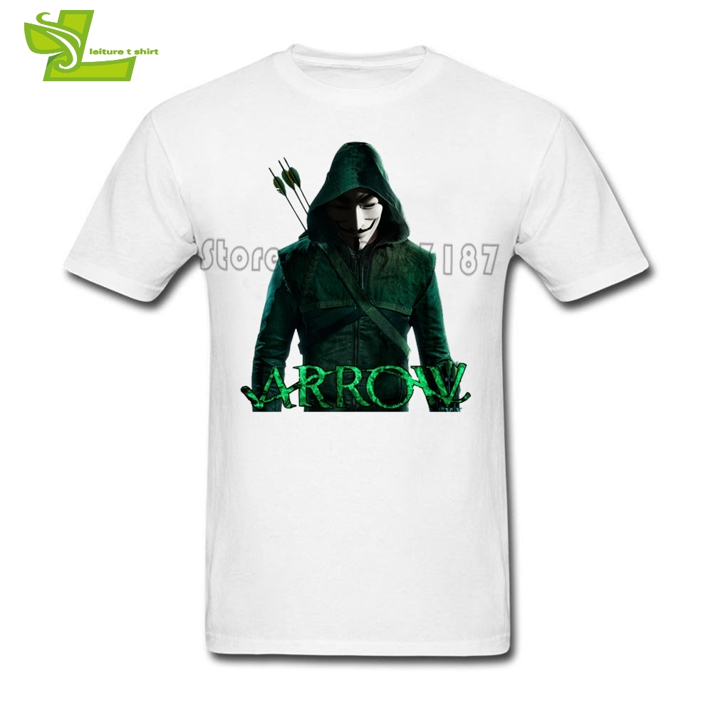 V For Vendetta Arrow T Shirt Men Summer Cheap Tees Male New