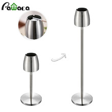 Stainless Steel Telescopic Ashtray Floor Standing Ash Tray Ashtray Portable Metal Large Windproof Ashtray Smoking Accessories