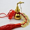 Винтажные металлические изделия в китайском стиле Ву Лу  латунная Тыква с листьями  фэн-шуй  кукурбит Ruyi  аксессуары для домашнего декора