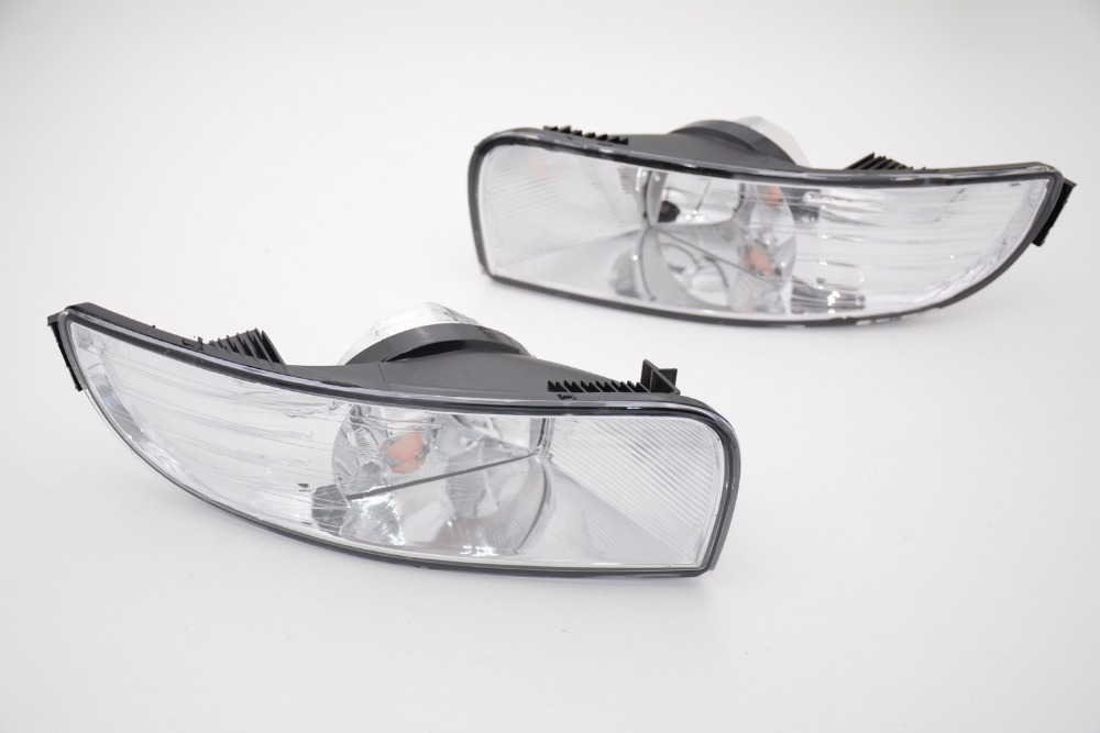 2 Pcs/Pair fog lights without bulbs bumper fog lamps RH and LH for Skoda Superb 2009-2013