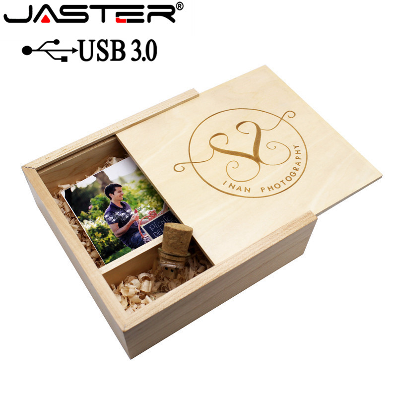 JASTER USB 3.0 180*180*60mm Photo Album USB+Box usb flash drive Memory stick Pendrive 8GB 16GB 32GB customer LOGO Wedding GIFT