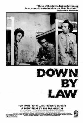 DOWN BY LAW Movie John Lurie Tom Waits Roberto Benigni SILK POSTER Decorative Wall painting 24x36inch image