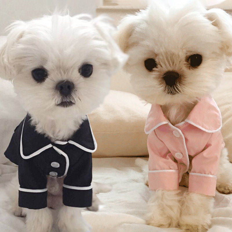 Cute Pet Dog Clothes For Small Dogs Pajamas Pet Sleepwear Winter Dog Costume Puppy Cat Shirts For Dogs Pets Clothing Pet T Shirt Dog Clothes Pet Dog Clothesclothes For Small Dog Aliexpress