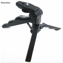 Xiamelon Mini Digital camera Tripod Stand Holder Magnificence Leg Floder for Canon Sony Nikon DSLR Digital camera Gopro Cell Telephone
