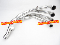 For Yamaha YZF R6 Exhaust Downpipes Headers Pipes 2006 2007 2008 2009 2010 2011 Year Stainless Steel