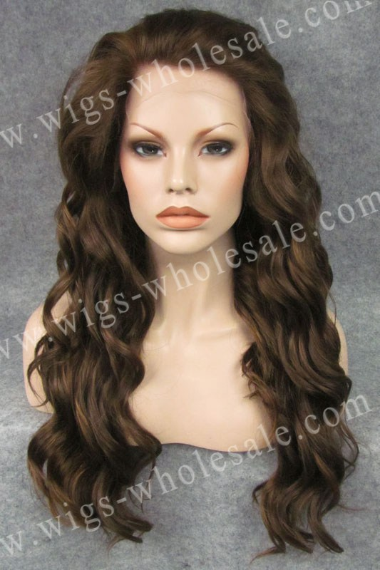 ФОТО Katy Perry Wig Brown Wavy Cheap Lace Front Wigs Synthetic