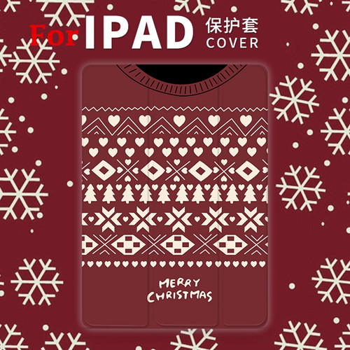 Christmas Magnet PU Leather Case Flip Cover For iPad Pro 9.7 10.5 Air Air2 Mini 1 2 3 4 Tablet Case For New ipad 9.7 2017 mimiatrend tige for apple ipad air 1 2 air2 flip pu leather case smart cover for new ipad 9 7 2017 tablet case for ipad pro 9 7