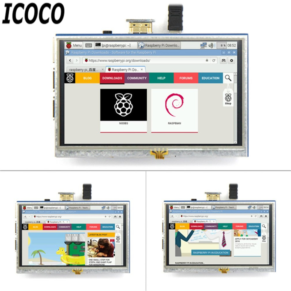Moruq Pi XPT2046 isti satış üçün ICOCO Yeni Gəliş Yüksək - LED işıqlandırma - Fotoqrafiya 3