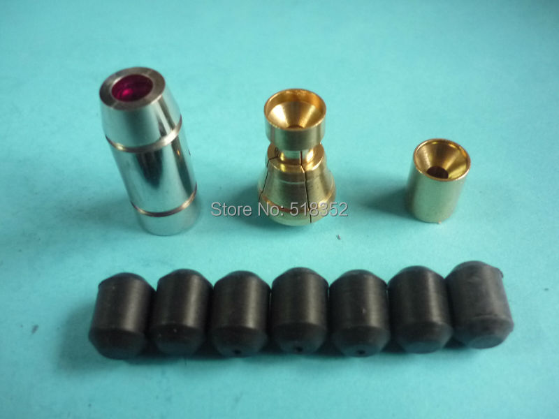 Sodick K1C TS Guide set ID0.3-3.0mm TS Drill guide Set for SSG EDM Drilling, including Guide, Collet, Assist Guide, Rubber SealsSodick K1C TS Guide set ID0.3-3.0mm TS Drill guide Set for SSG EDM Drilling, including Guide, Collet, Assist Guide, Rubber Seals