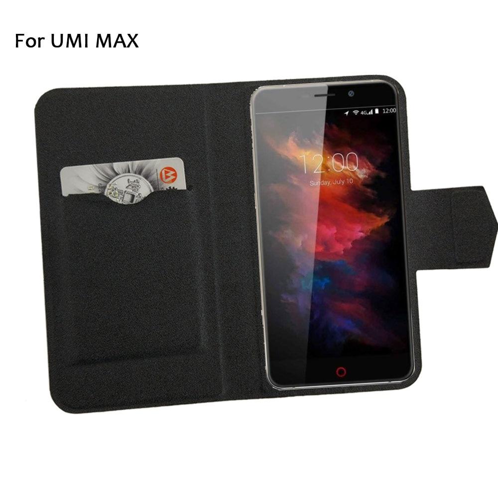 5 barev Hot! UMI MAX Pouzdro na telefon Kožené pouzdro, Přímá móda Luxusní Luxusní Flip Stojan Kožená pouzdra na telefon