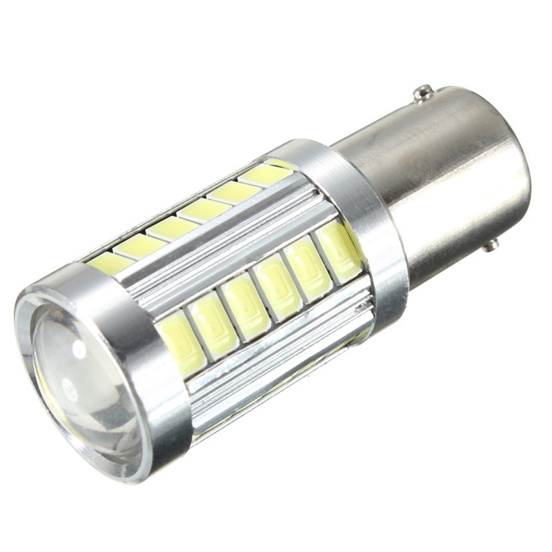 CYAN SOIL BAY 1PC 1156 BA15s P21W 33 SMD 5630 Led Car Turn Signal Brake Light Tail Lamp 33SMD 5730 LED Auto Rear Reverse Bulb