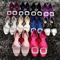 обувь женская туфли женские балетки женские женские туфли обувь для женщин Новые ботинки женщина серебряный chaussure femme zapatos mujer sapato feminino горный хрусталь суперзвезда обувь хрустальные женская обувь