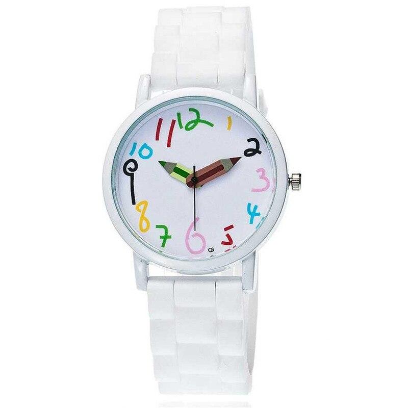02e4876cac2 Mulheres lápis Vestido Da Forma de Quartzo Relógio de Pulso Relógio de Senhoras  Presentes Relógios silicone
