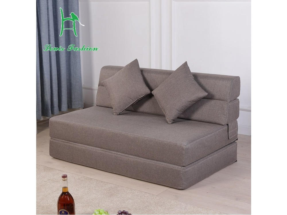 Large sized apartment sofa bed tatamimultifunctional folding sofa bed at the office in living Large couch bed