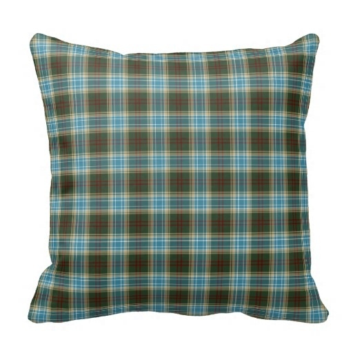 Ugly State Of Michigan font b Tartan b font Pillow Case Size 20 by 20 Free