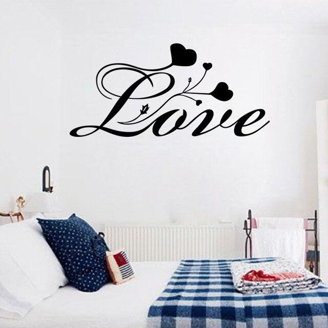 Calligrafia Amore Citazioni Stickers Murali Preventivo Decorazioni ...