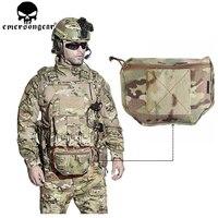 EMERSONGEAR Tactical Pouch Armor Carrier Dump Drop Pouch Airsoft Plate Carrier Bag Tool AVS IPC Vest