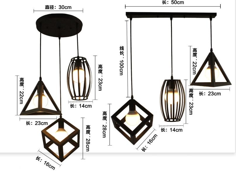 Luz pingente Moderno/Luzes Pingente Cozinha Restaurantes Bar Decorativo Casa LEVOU Dispositivo Elétrico de Iluminação Criativa Lâmpada Da Sala de Jantar