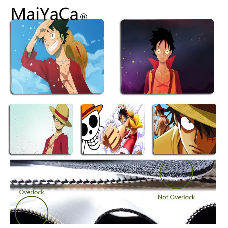 Computer & Office Maiyaca Custom Skin One Piece Monkey D Luffy Mouse Pad For Laptop Laptop Gaming Mice Mousepad