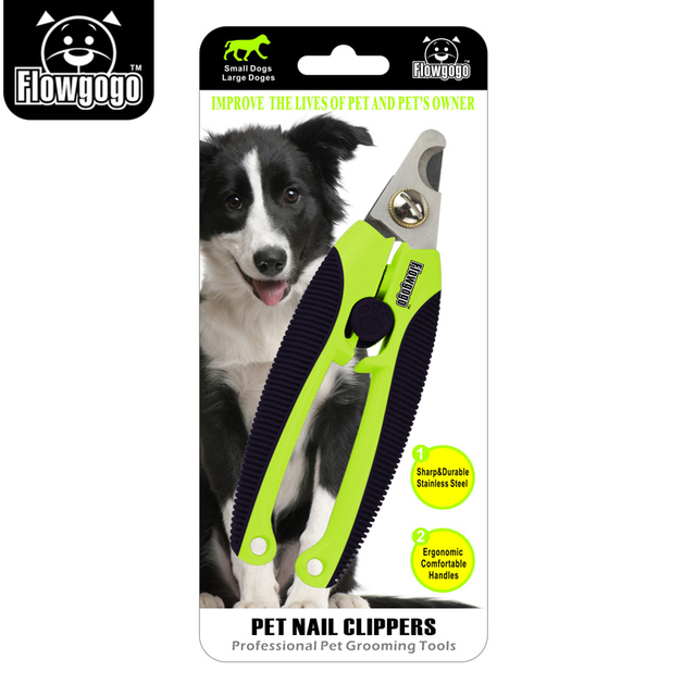 FLOWGOGO Professional Stainless Steel Dog Nail Clippers
