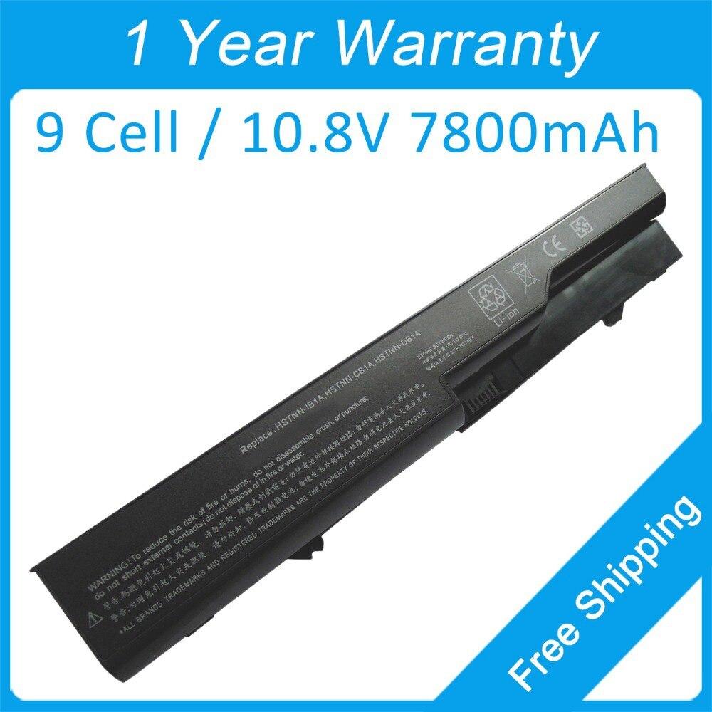 7800 мАч аккумулятор для ноутбука HP ProBook 4525 s 4720 s 4520 4420 s 4326 s 4325 s 4320 t 592909-221 587706-241 587706-421 587706-741