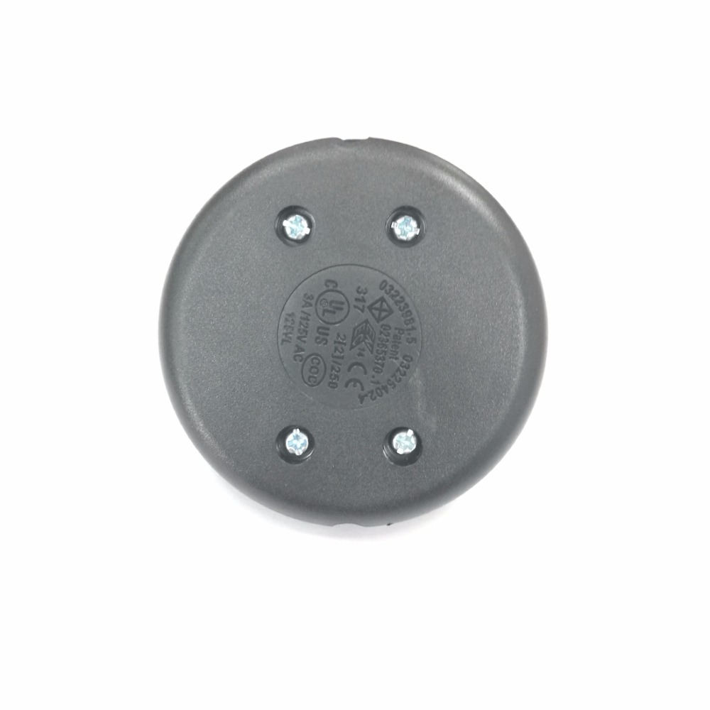 1PC Round floor switch foot switch lamp on off switch reset button online switch 110~250V/2A
