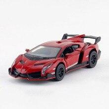 kinsmart 138 simulation sports car model toy 125cm alloy pull back racing cars for children kids toys brinquedos gift
