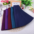 Spring Autumn 5 Solid Color Fashion Girl Knitting Skirt Girls Skirts Princess Tutu Skirts Girl Child Clothing Skirts Kids