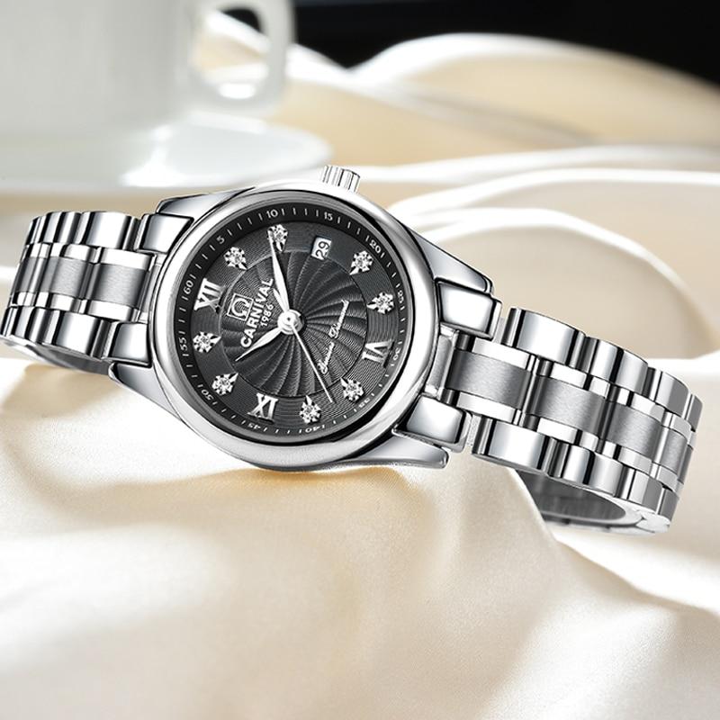 Carnaval luxe merk horloge vrouwen Japan Quartz klok Zwitserland - Herenhorloges - Foto 2