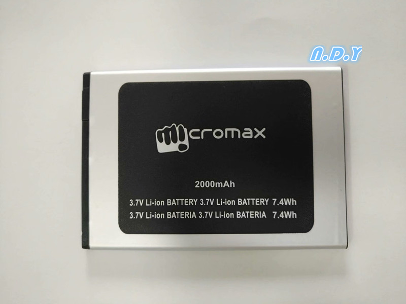 New High Quality Micromax Q351 2000mAh Battery For Micromax Q351 Q 351 Mobile phone