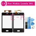 Original For Nokia Asha Lumia 501 N501 Touch Screen Digitizer Glass Panel + Free Tools Free Shipping