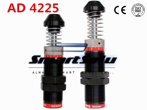 free shipping 1pcs M42x1.5 Pneumatic Hydraulic Shock Absorber Damper 25mm stroke AD 4225