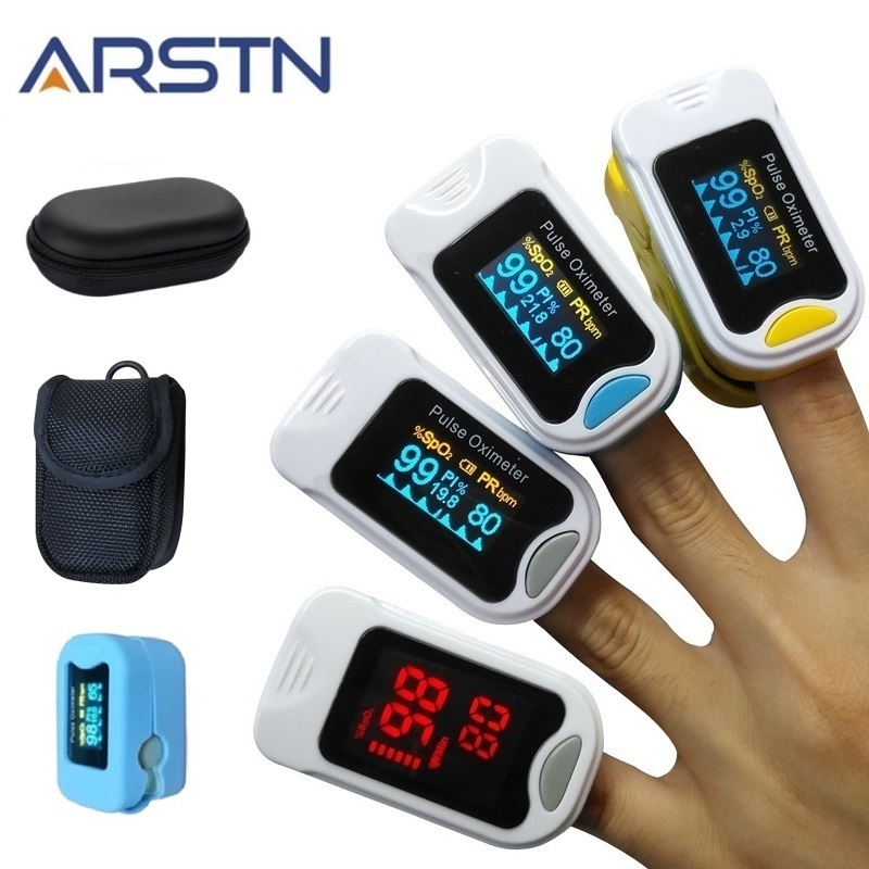 Fingertip Pulse Oximeter De Dedo Pulso Oximetro Home family Pulse Oxymeter Pulsioximetro finger pulse oximeter CE LED OLED(China)