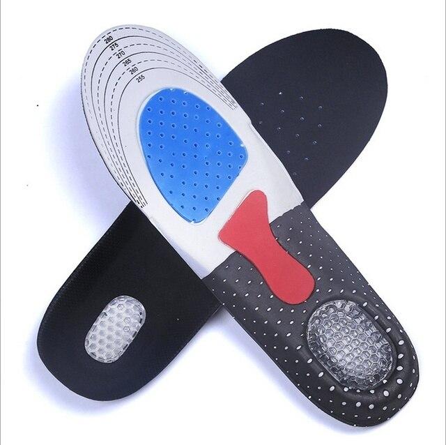 Silicone Giày Đệm Chân Chăm Sóc Giày Chèn Pad Đế Duy Nhất Người Đàn Ông Silicone Gel