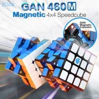 GAN 460 M Manyetik Küp 4x4 Sihirli Küp 4x4x4 Gan 460 M Hız Gan460 M Cubo Magico 4*4 Profesyonel Bulmaca Stickerless Gan Küp